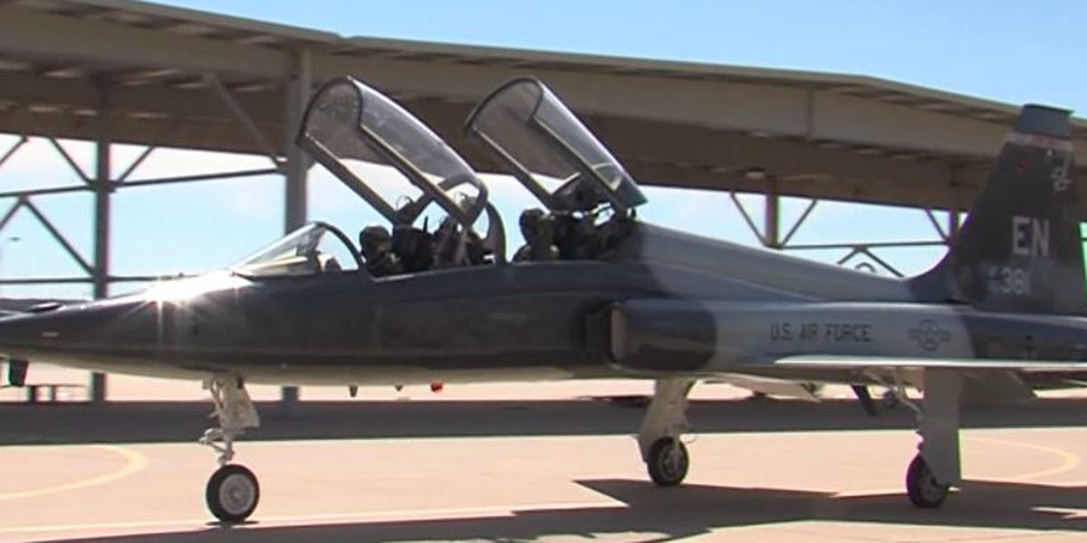 Is Sheppard Air Force Base growing fast enough for one of the largest flight military training programs in the world?