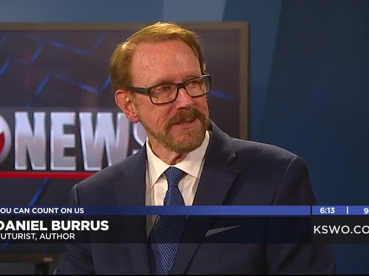 In Studio: author and futurists Daniel Burrus