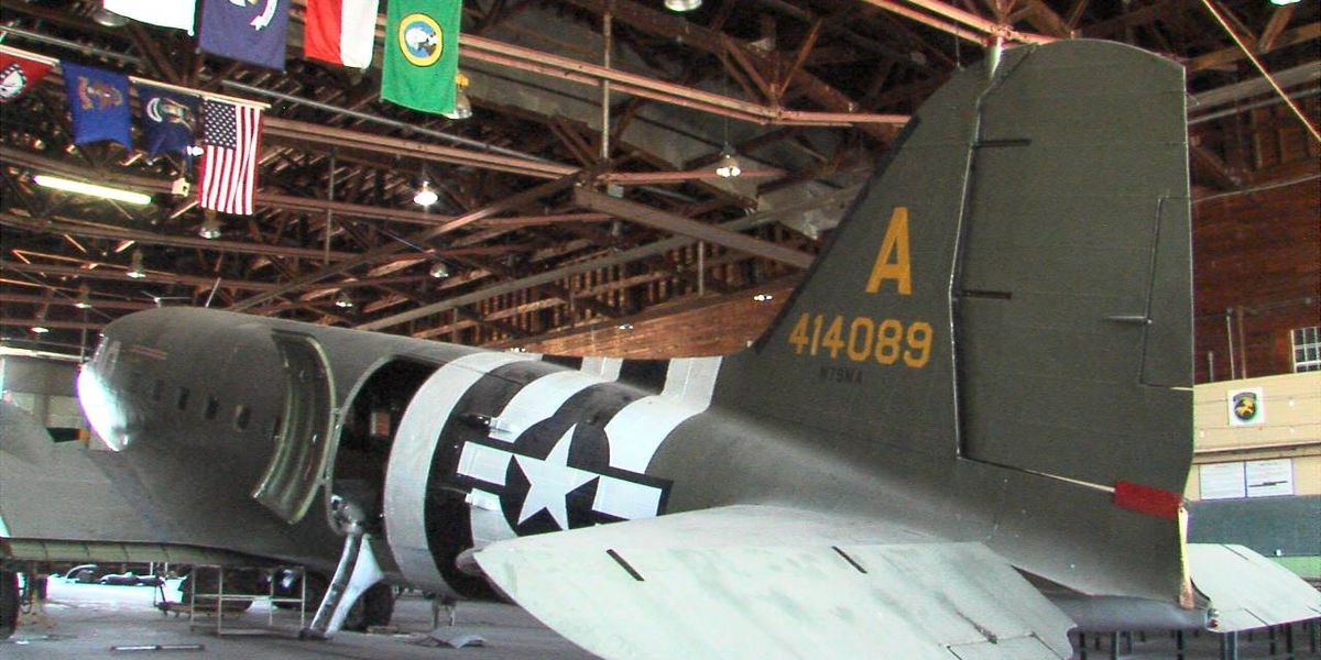 Historic aircraft restored to its former glory