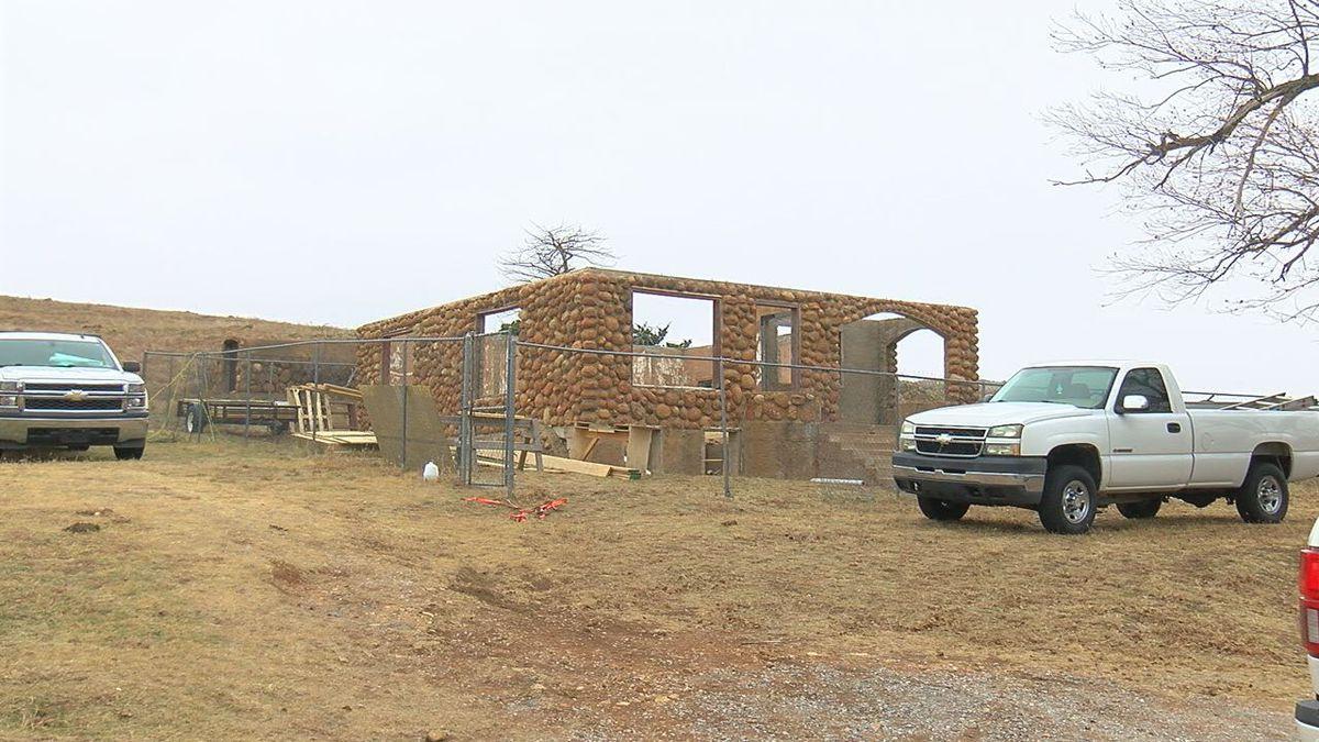 Repairs to historic house on refuge underway