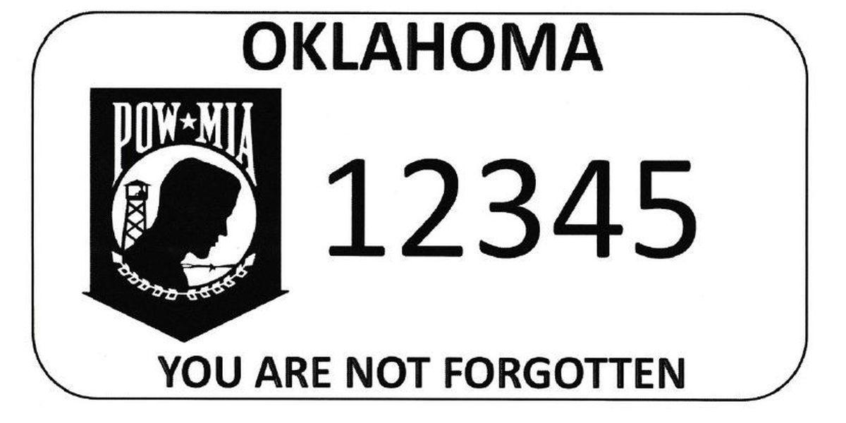 OK Unveils New POW/MIA Awareness License Plate