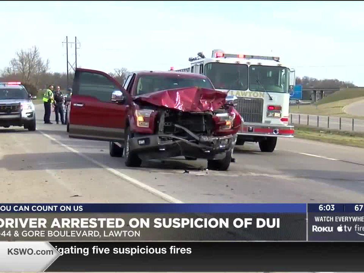 Man arrested in Lawton under suspicion of DUI