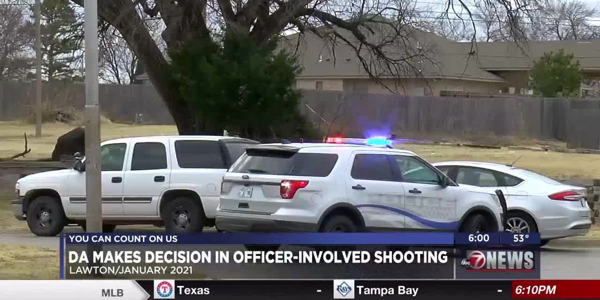 Comanche County DA makes decision on filing charges in officer-involved shooting
