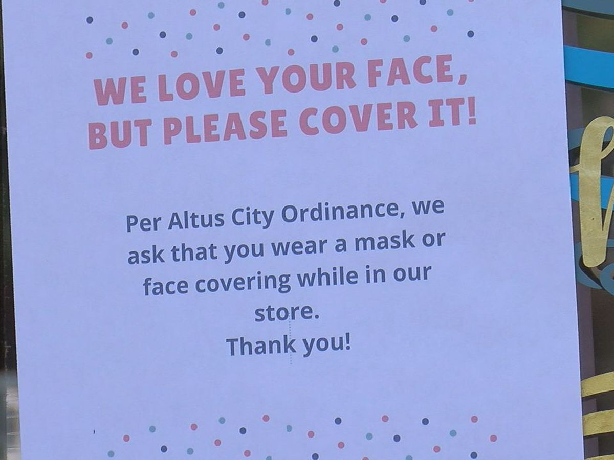 Altus business owners react to new pandemic regulations
