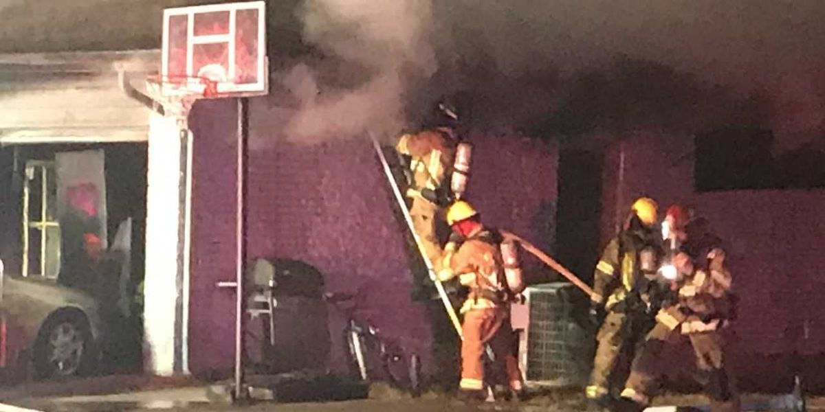 UPDATE: Candle to blame for overnight house fire in Lawton
