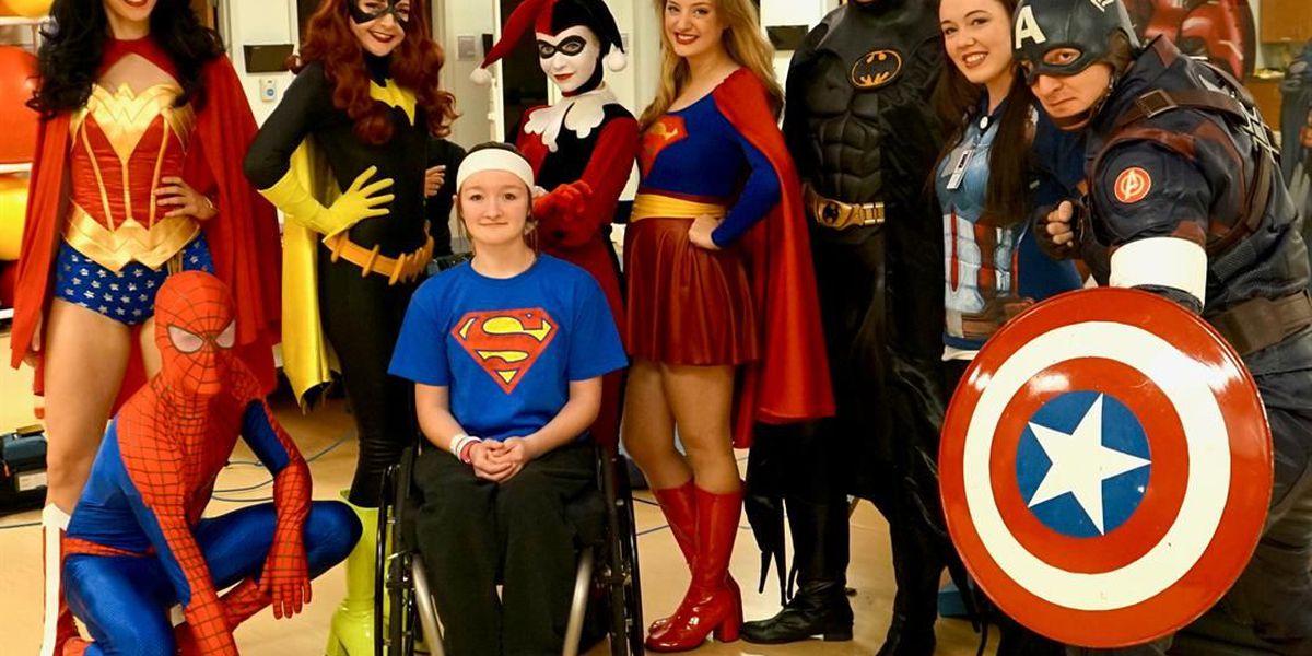 The Children's Center Rehab Hospital celebrates National Superhero Day