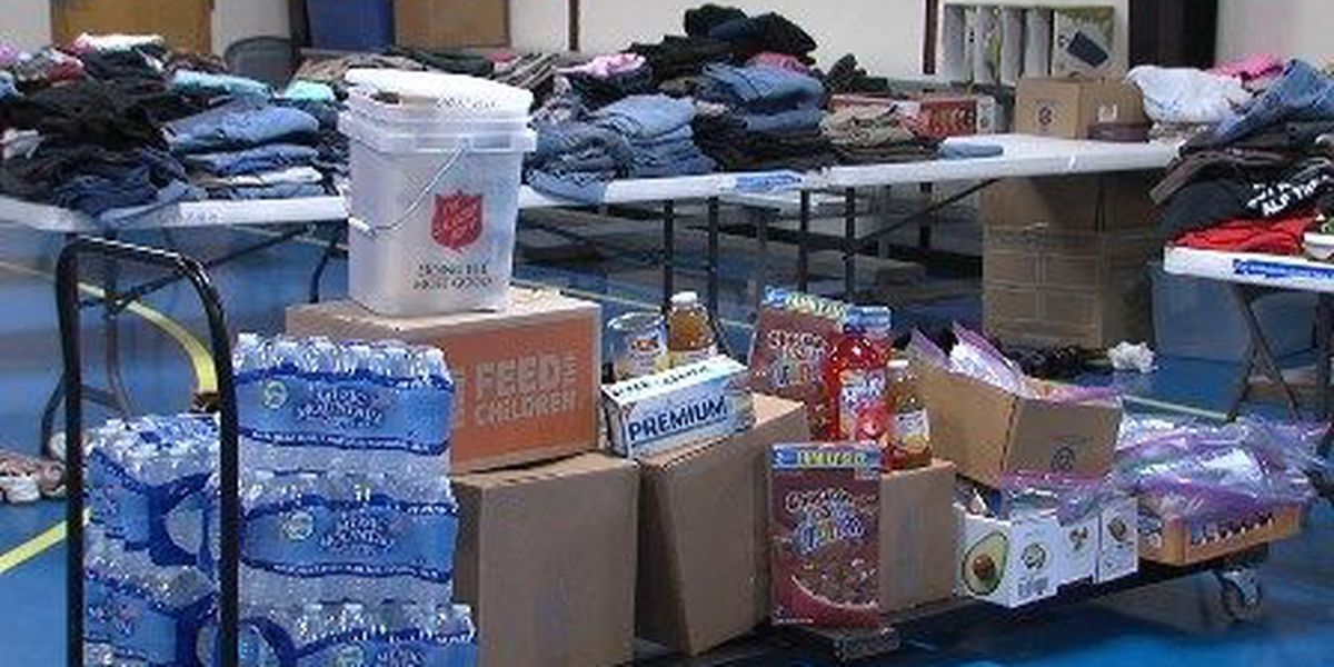 Comanche Nation sets up rescue shelter for flood victims