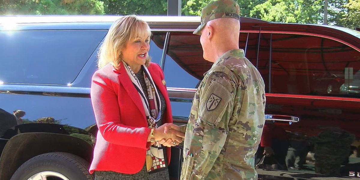 Gov. Fallin visits Fort Sill Women's Equality Day celebration