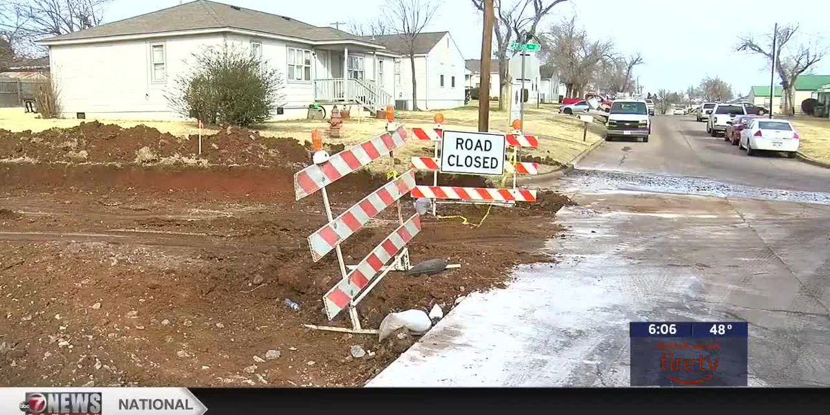 One project to repair several streets in Lawton