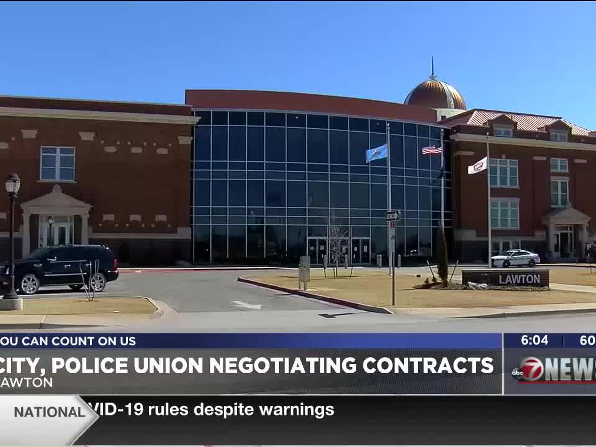 Police union, City of Lawton negotiating contracts