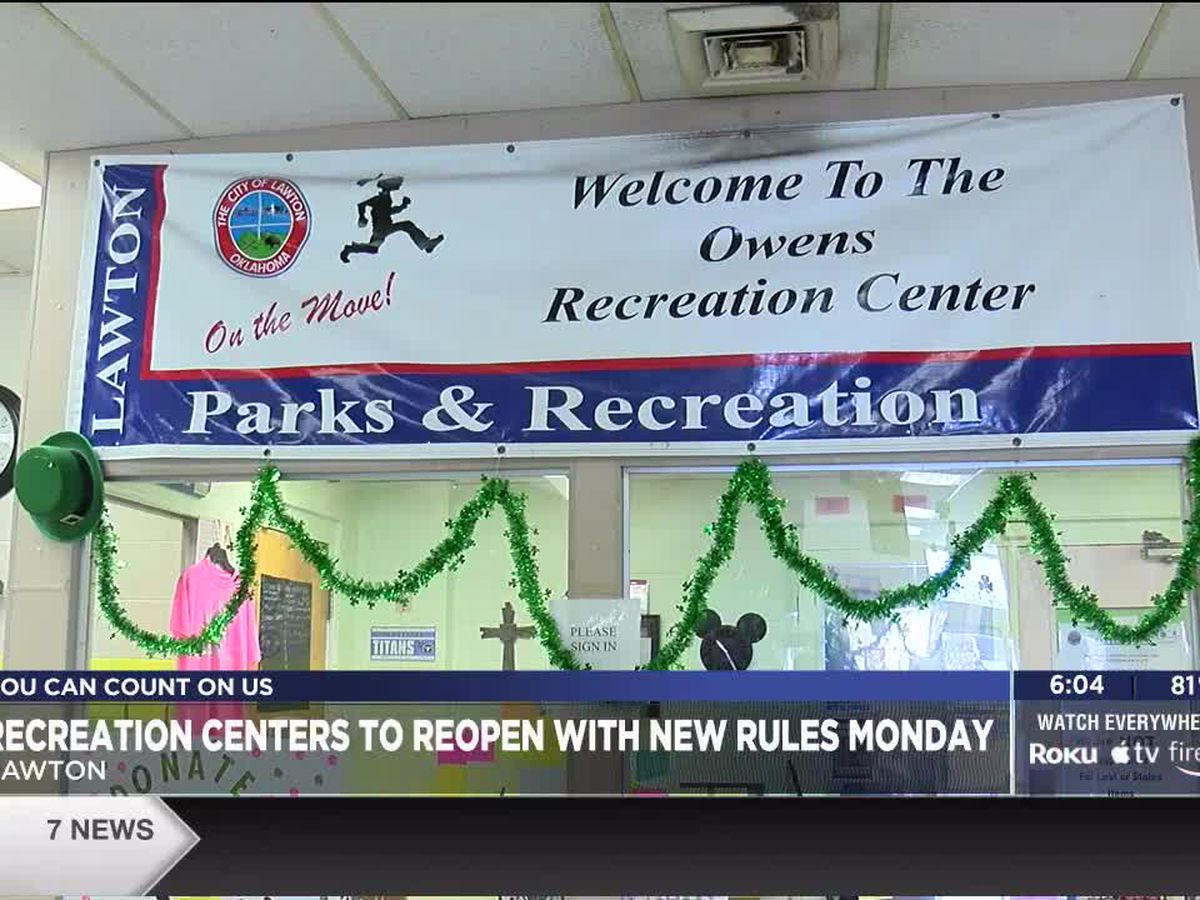 City of Lawton to reopen recreation centers
