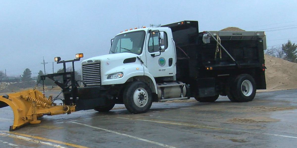 ODOT maintaining roads during winter weather