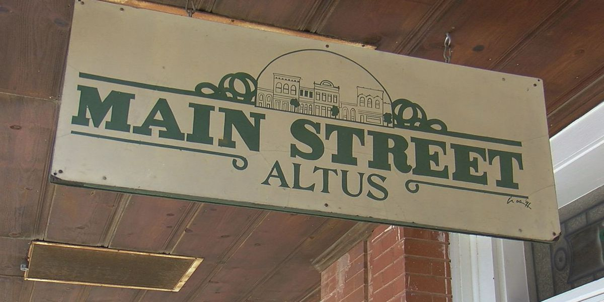 "Altus named finalist for ""America's Main Street"" contest"
