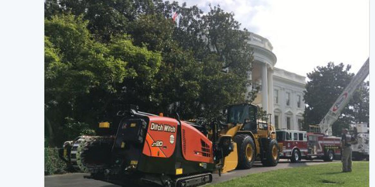"MIO Ditch Witch featured at the White House's ""Made in America"" week"
