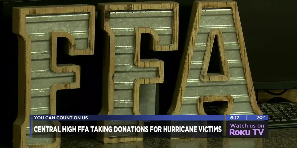 Local FFA program helping hurricane victims