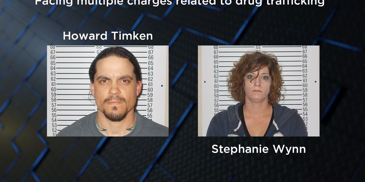 Duncan duo arrested on drug trafficking charges