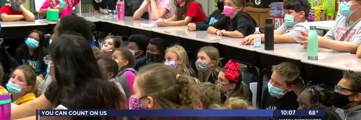 Woodland Hills students donate to Boys and Girls Club of Lawton