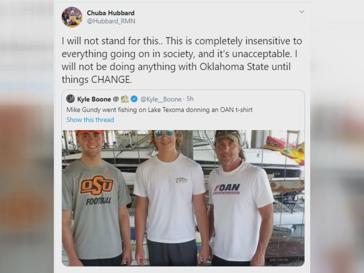 'WILL NOT STAND': OSU star RB upset over Gundy shirt