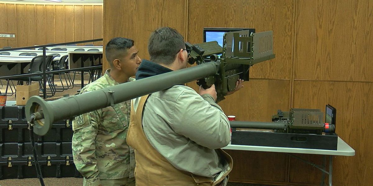 US Army recruiting hosts 'STEM Day' for area high school students