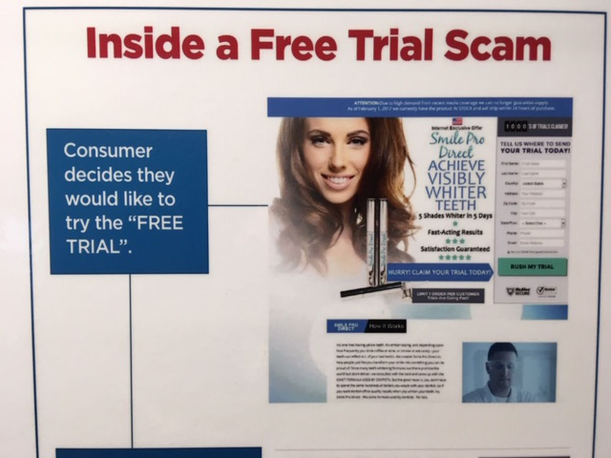 BBB: Be cautious of subscription and free trial scams