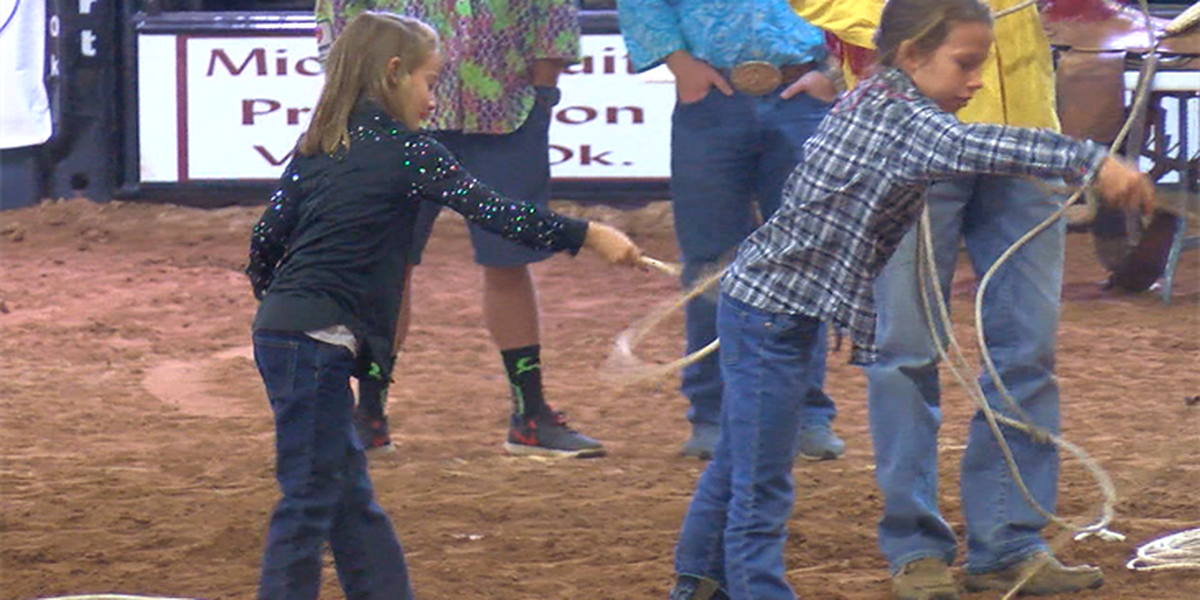 4th graders learn what it takes to compete during the Prairie Circuit Rodeo