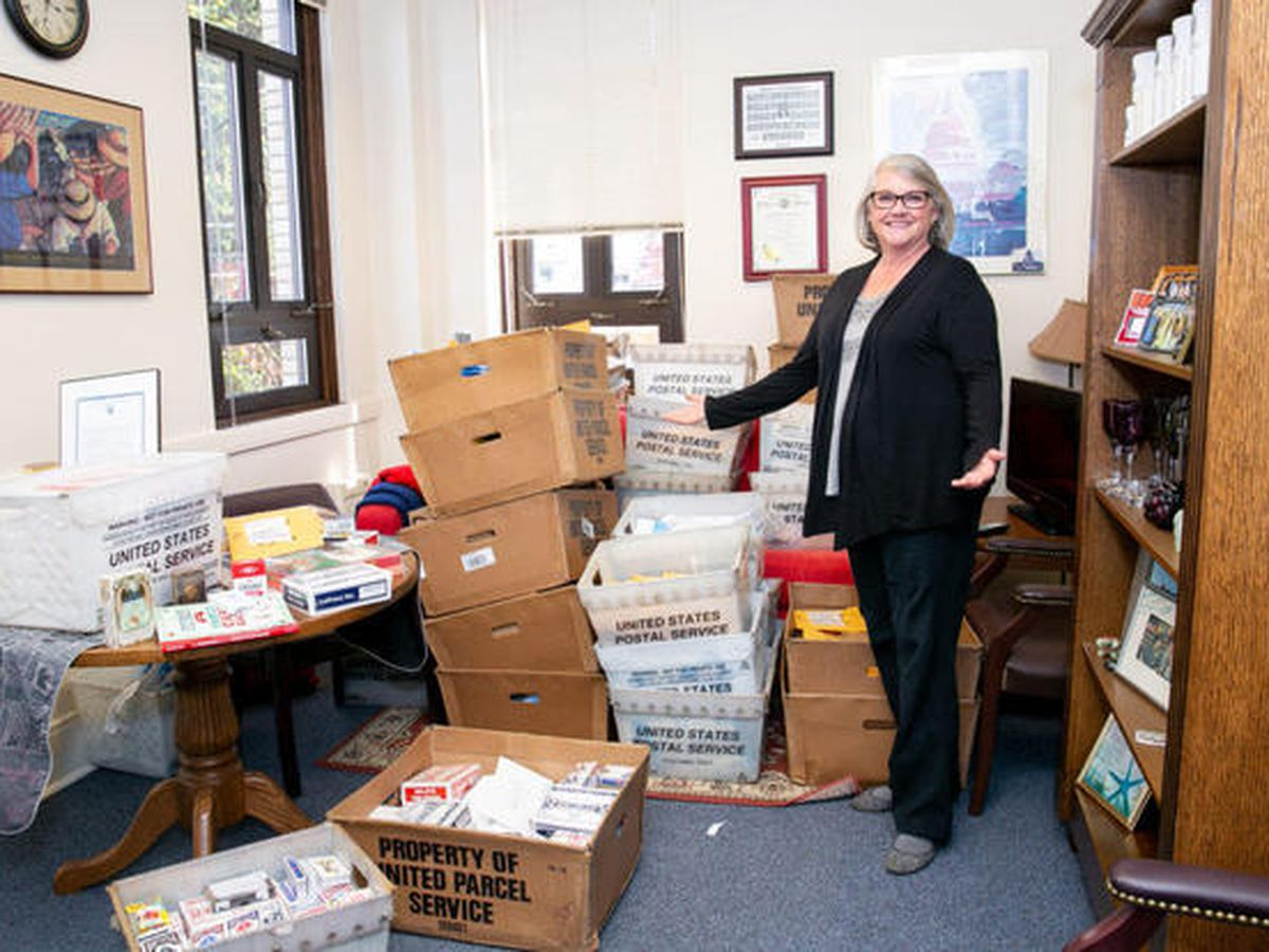 State senator's office fills with 1,700 decks of cards after she says nurses 'play cards' at work