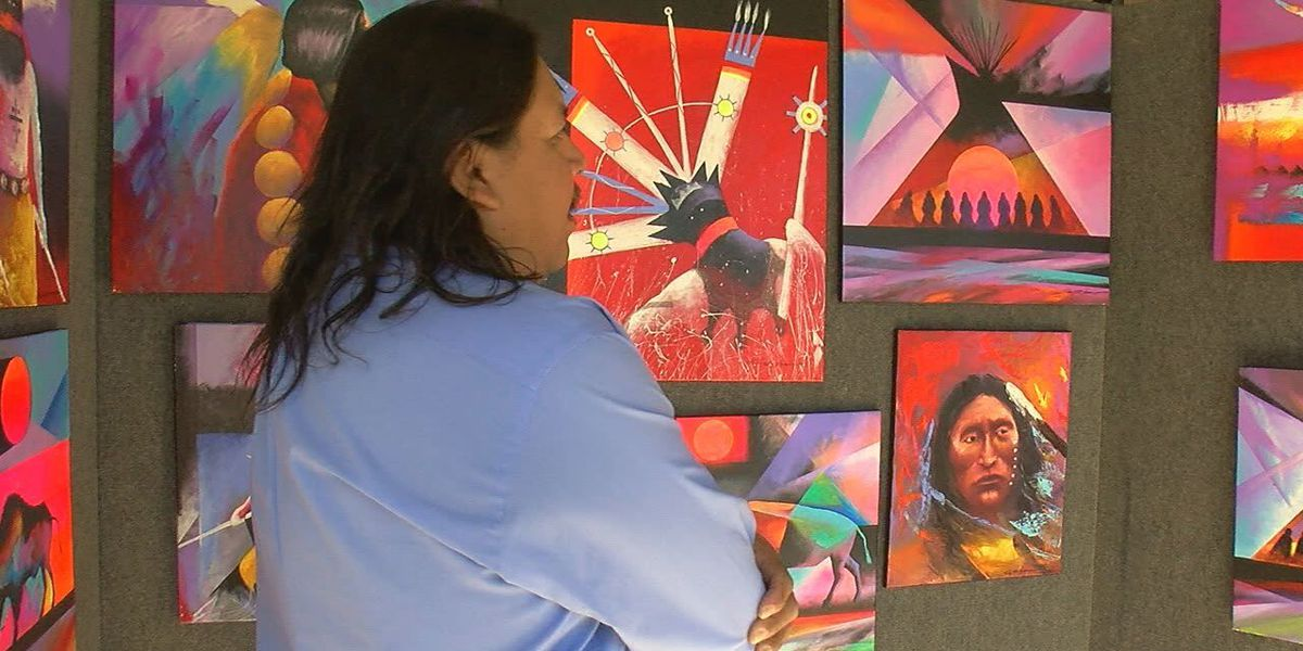 Local artist honors father at festival
