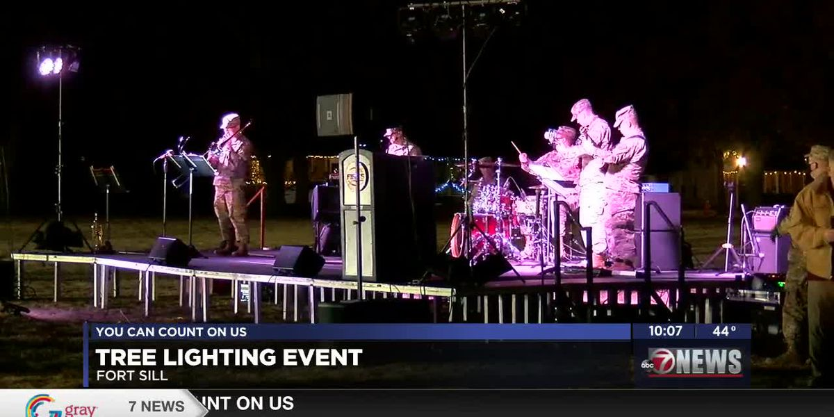 Ft Sill holds annual tree lighting ceremony