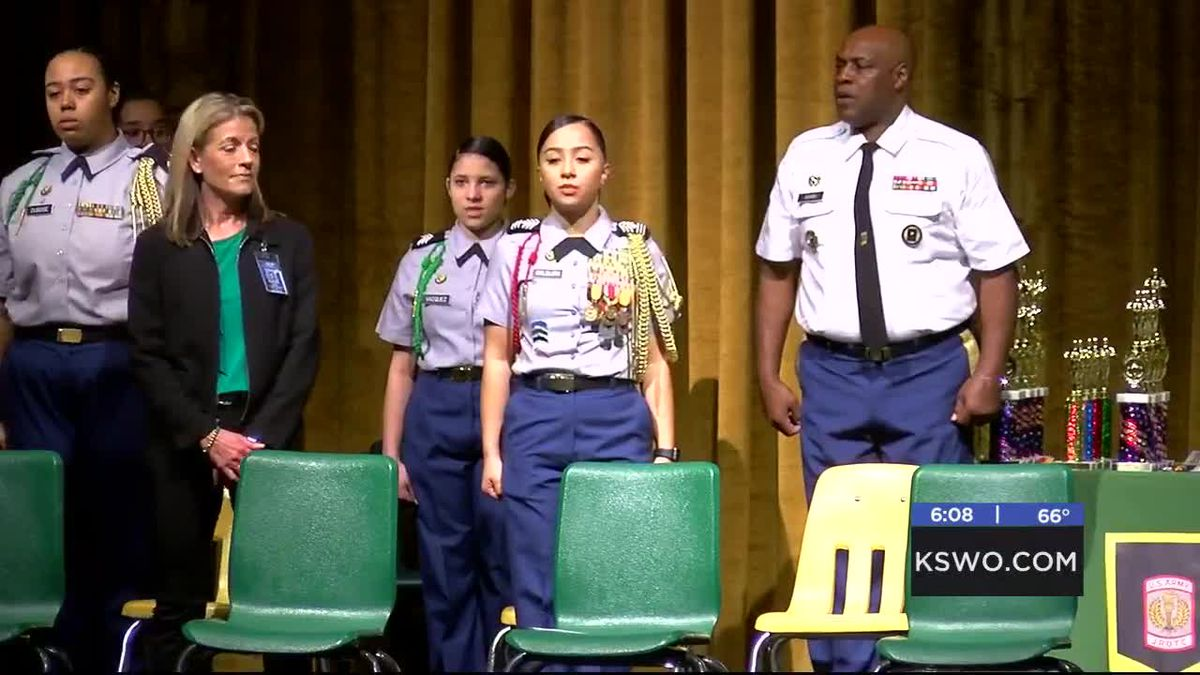 JROTC students honored at MacArthur High School