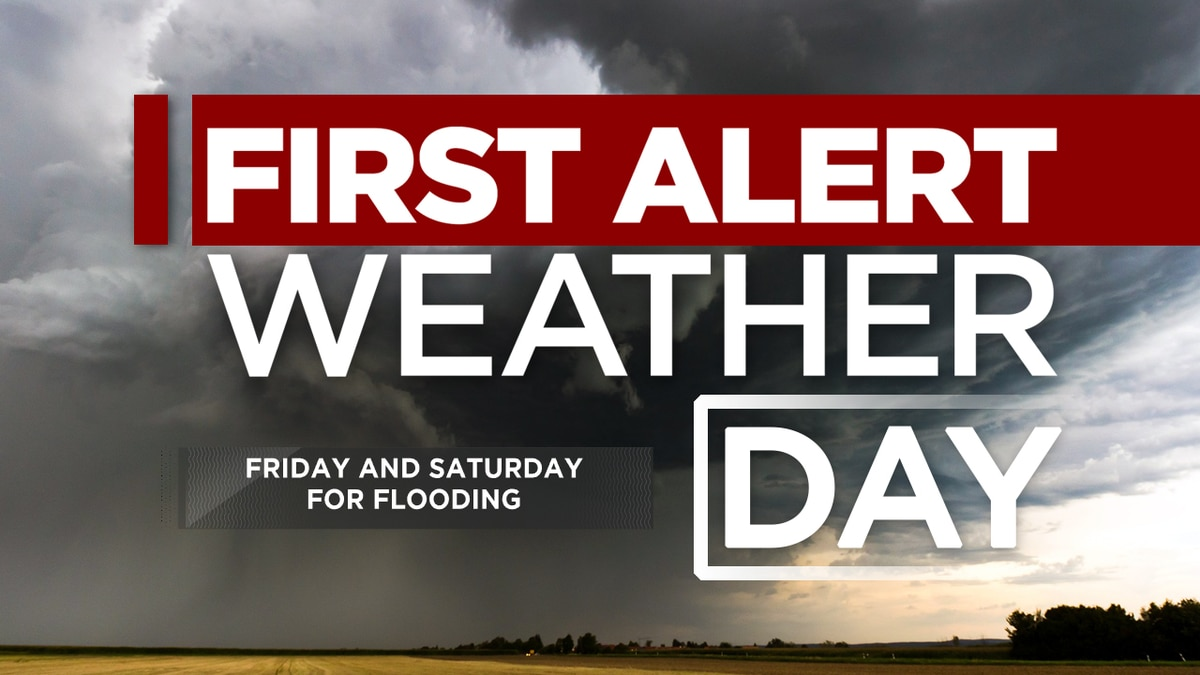 First Alert Forecast: rain arrives Friday