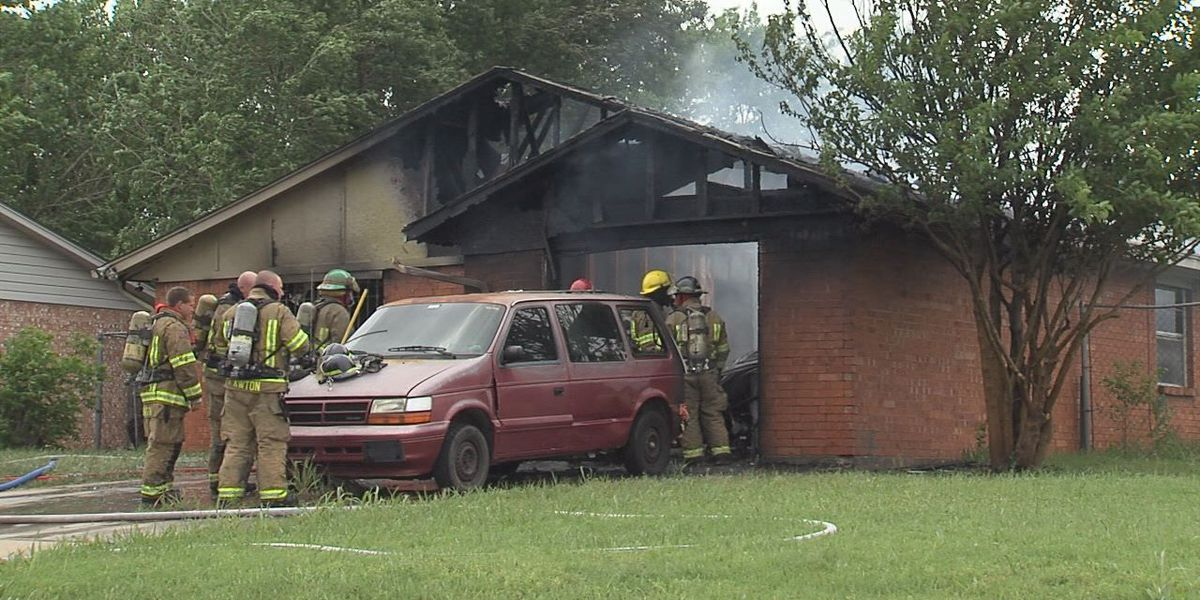 Space heater causes Lawton couple to lose home