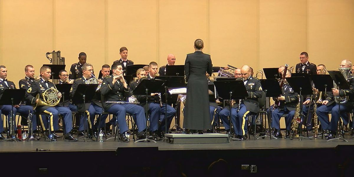 77th Army Band celebrates Veterans Day with music