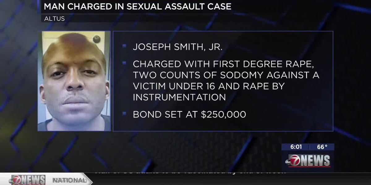 Man facing six counts of first-degree rape, multiple other charges in Jackson County