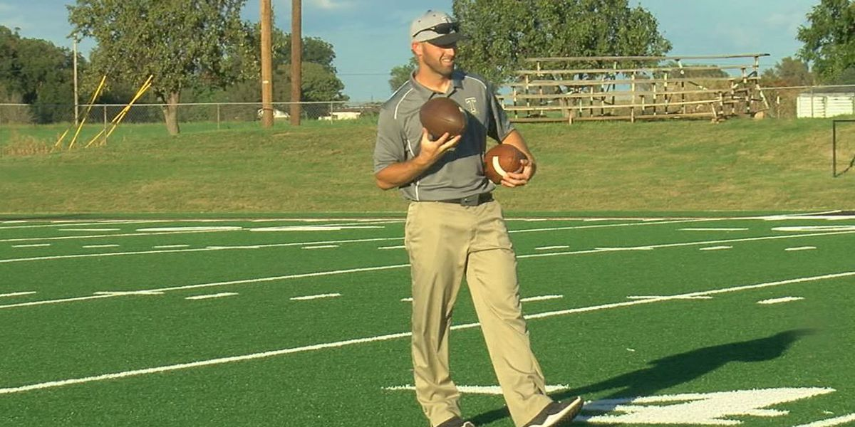 Tipton High School football coach nominated for award