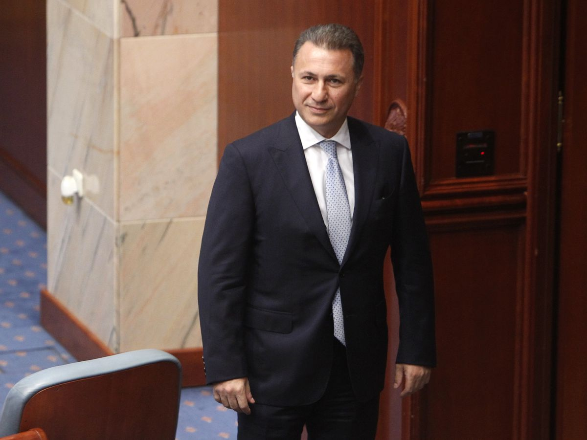 Macedonia to seek arrest in Hungary of former prime minister