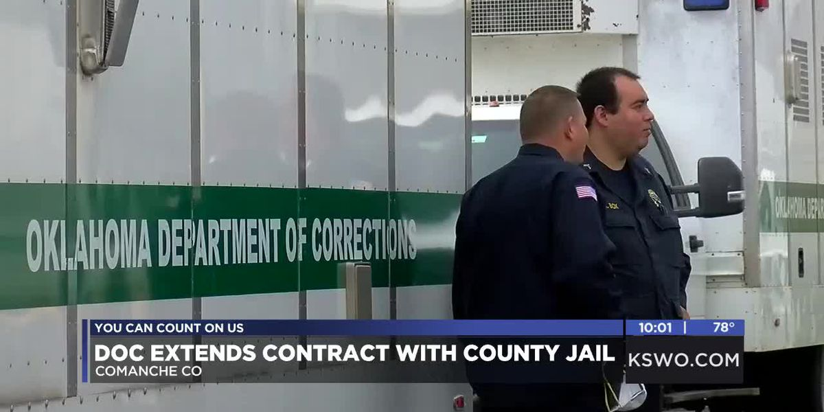 Department of Corrections extends contract with Comanche Co. Detention Center