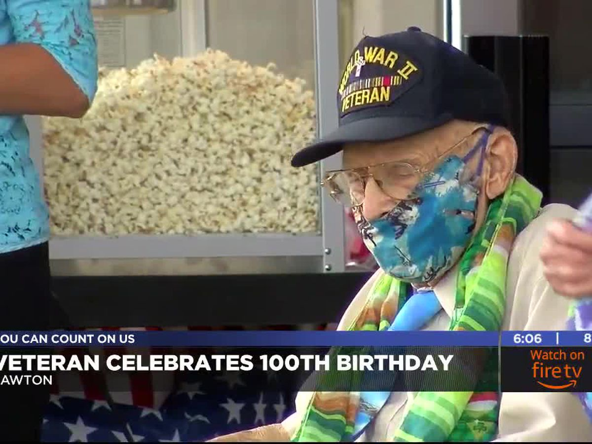 Local vet celebrates 100th birthday with parade