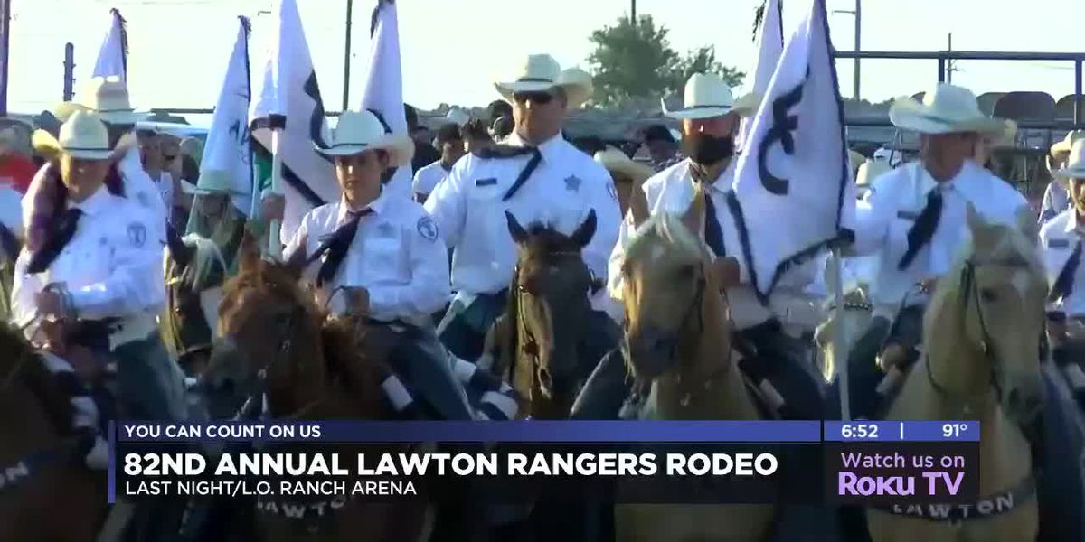 Arena record falls on opening night of Lawton Rangers Rodeo