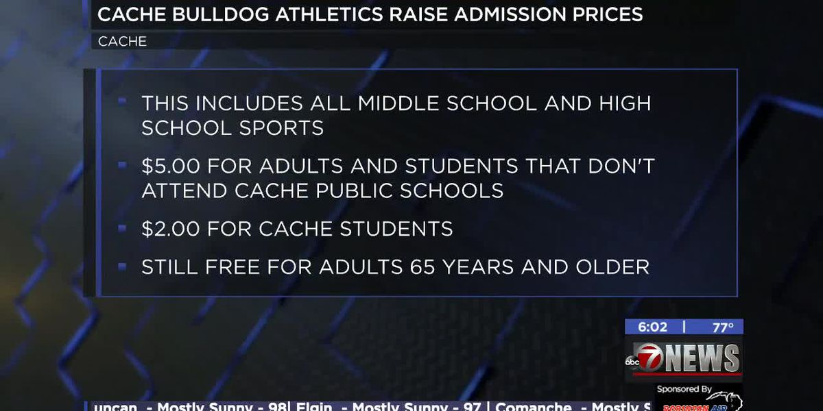 Cache Athletics increasing admission prices for all sporting events