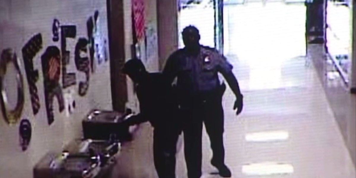 Police officer on paid leave after allegedly hitting student