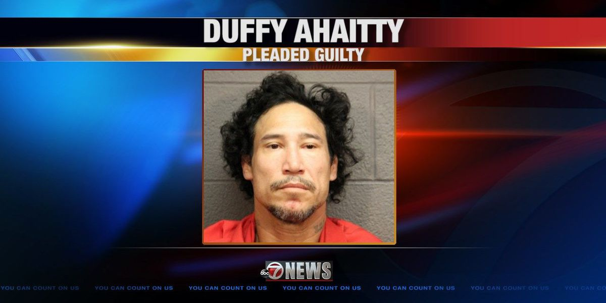 Man pleads guilty to crime