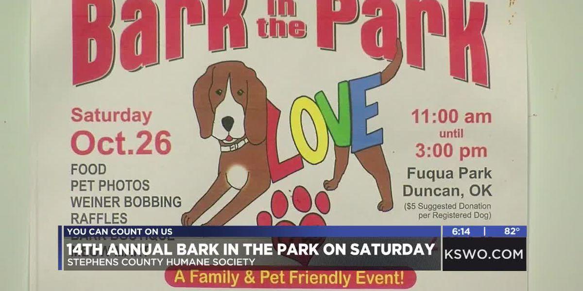 Stephens County Humane Society hosting Bark in the Park