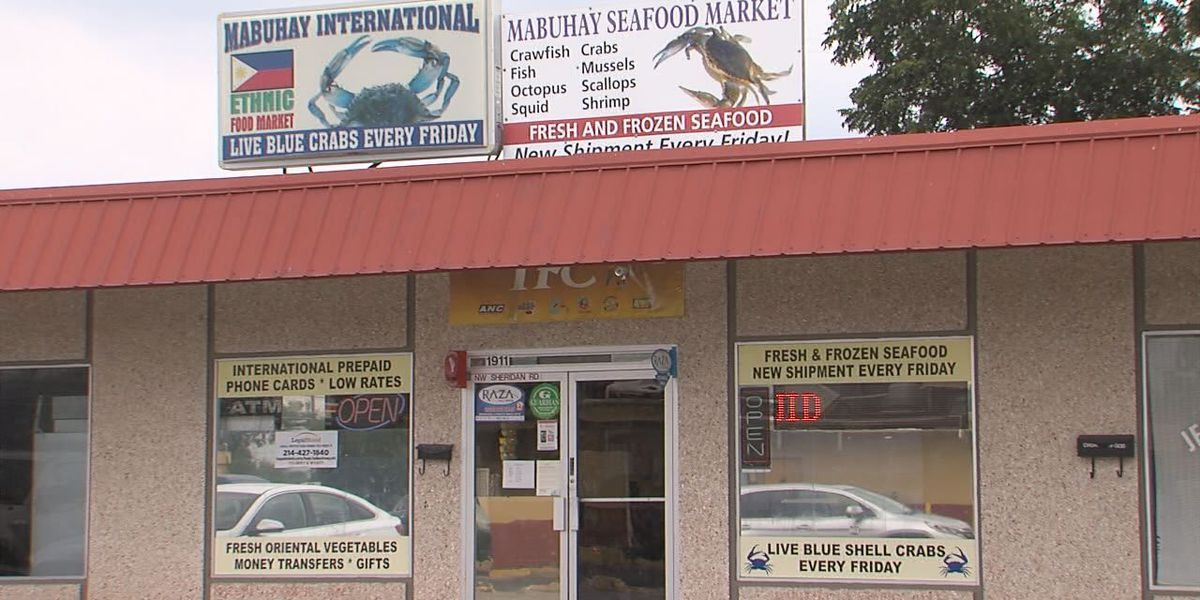 Mabuhay Food Store in Lawton was broken into