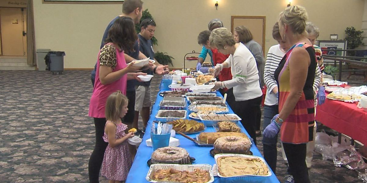 Cameron Baptist hosts lunch for 1st responders