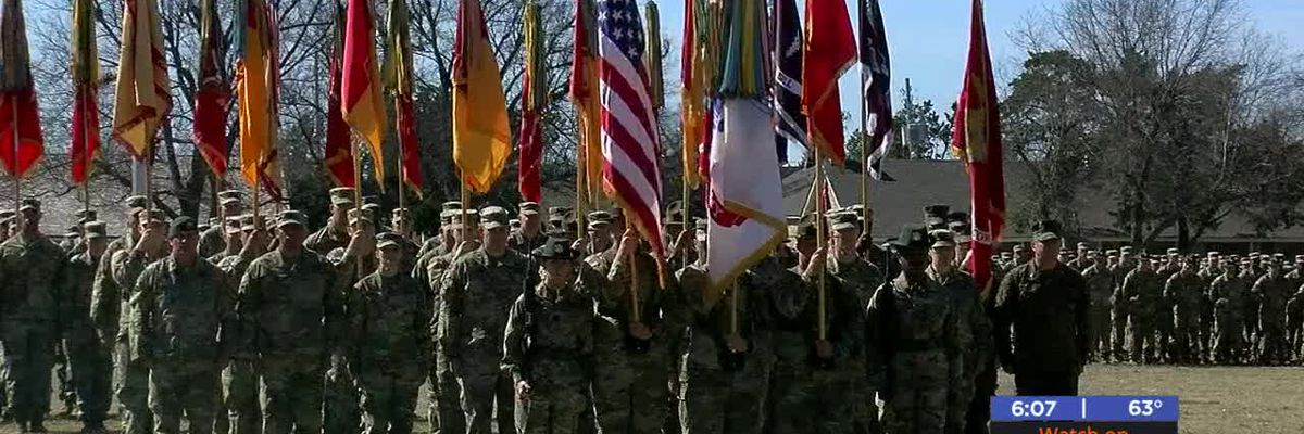 Fort Sill says goodbye to one general and hello to another
