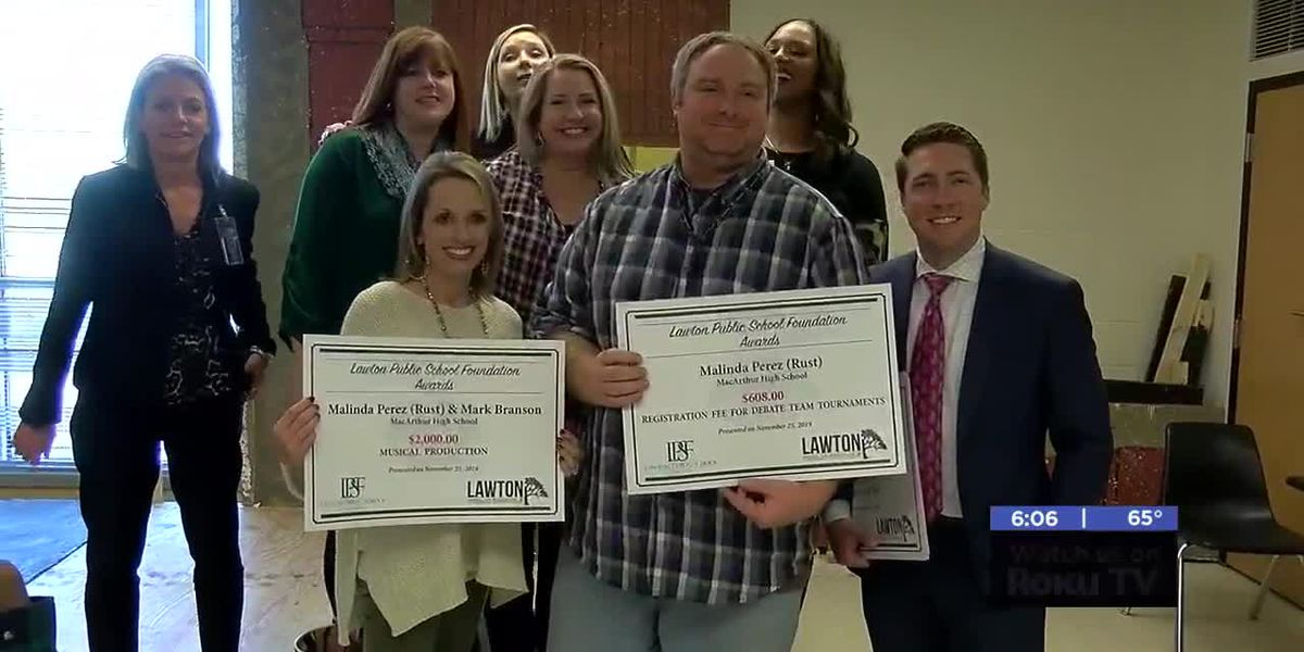 Lawton Public Schools Foundation board gives out $94,000 in grants