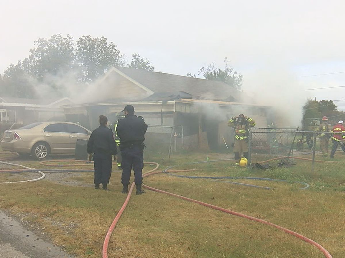 Two pets die in Lawton house fire