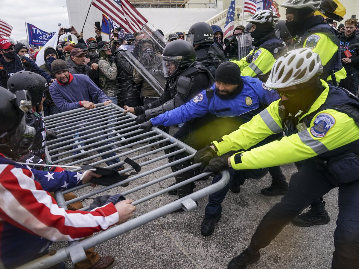 Police uncover 'possible plot' by militia to breach Capitol