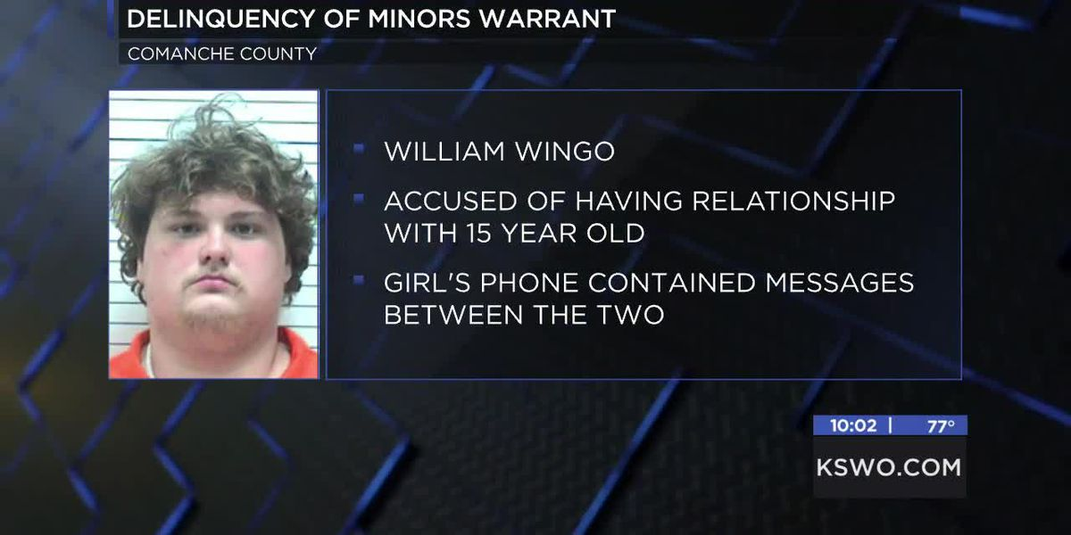 Lawton man changed with contributing to delinquency of a minor