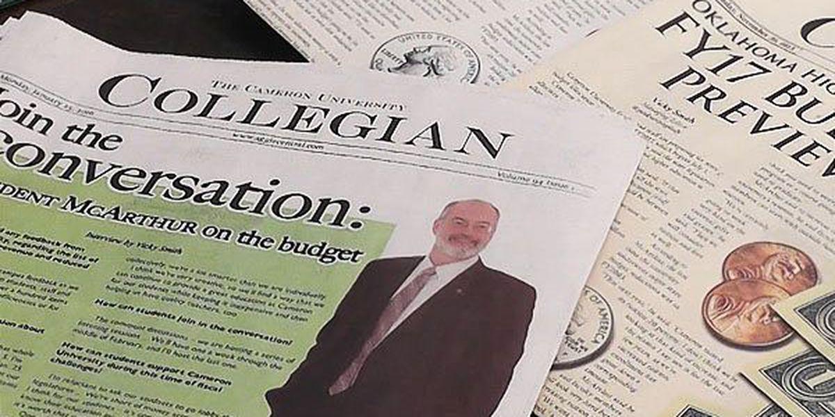 Cameron University prepares for budget cuts
